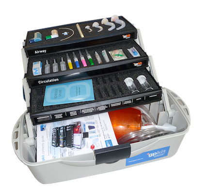 gpkit Medical Emergency Kit Open